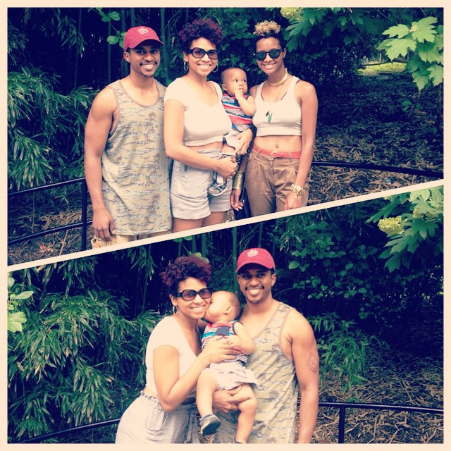 Family time at the zoo! #JefeAnias #photogrid @semazing @twiggynchic
