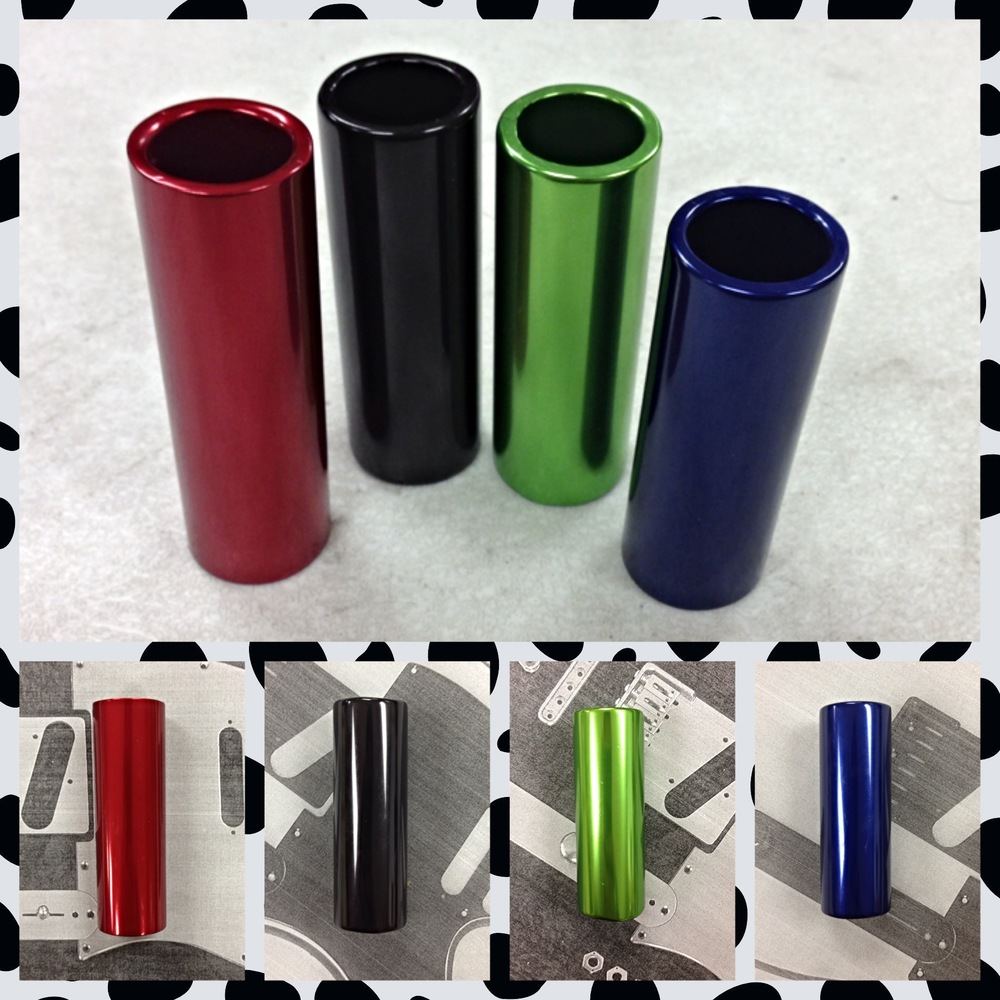 Anodized Aluminum Guitar Slides by ANOTONE