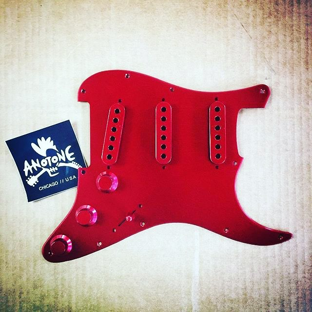 DISCOUNT ALERT:  Smooooooooth!  Type in SMOOTH15 at checkout for 15% off of your total order at www.anotone.com #anotone #anotoneparts #guitarporn #fender #fenderstrat #stratocaster #fenderguitar #fenderguitars #guitarplayer #guitarparts #customguitar #customguitarbuild #guitarbuilding #guitarbuilder #luthier #fenderstratocaster #telecaster #fendertele #fendertelecaster #pickguard #electricguitar #guitar