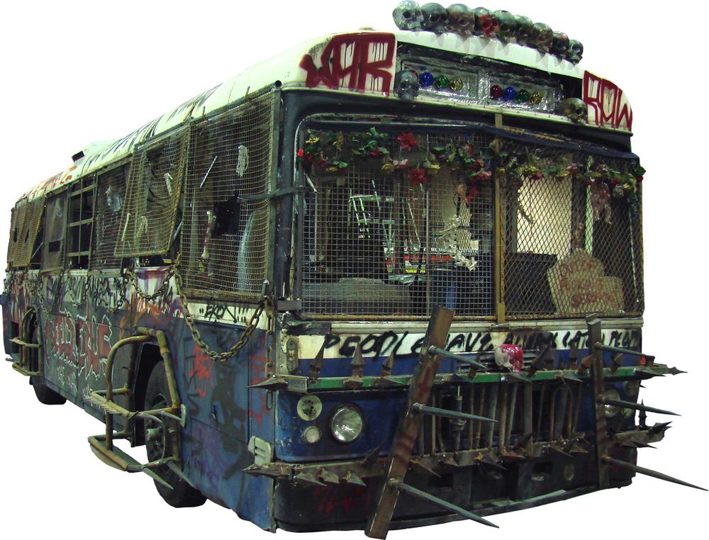 Marauder bus.