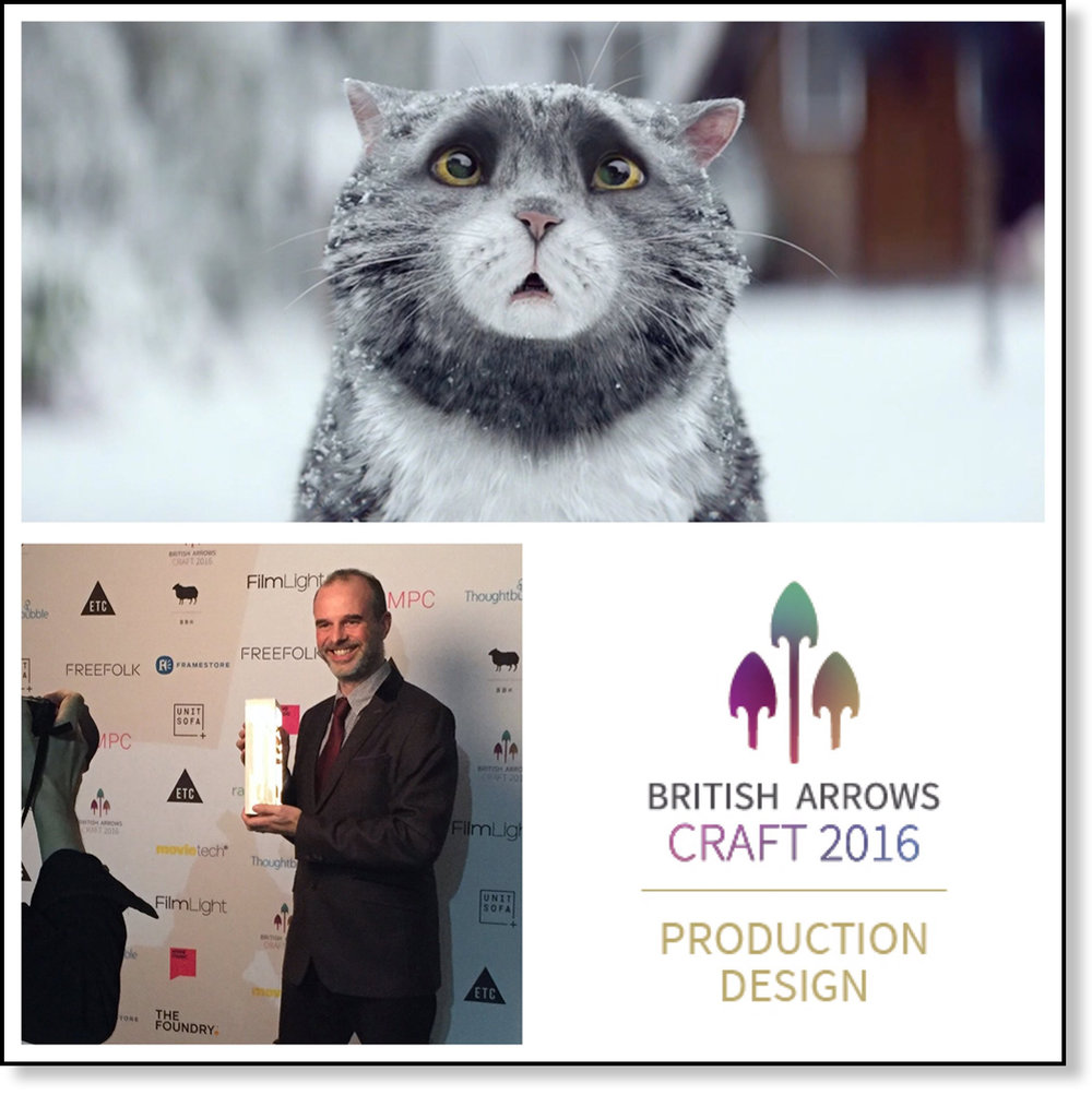 WON GOLD AT BRITISH ARROWS CRAFT AWARDS (CLICK TO READ)