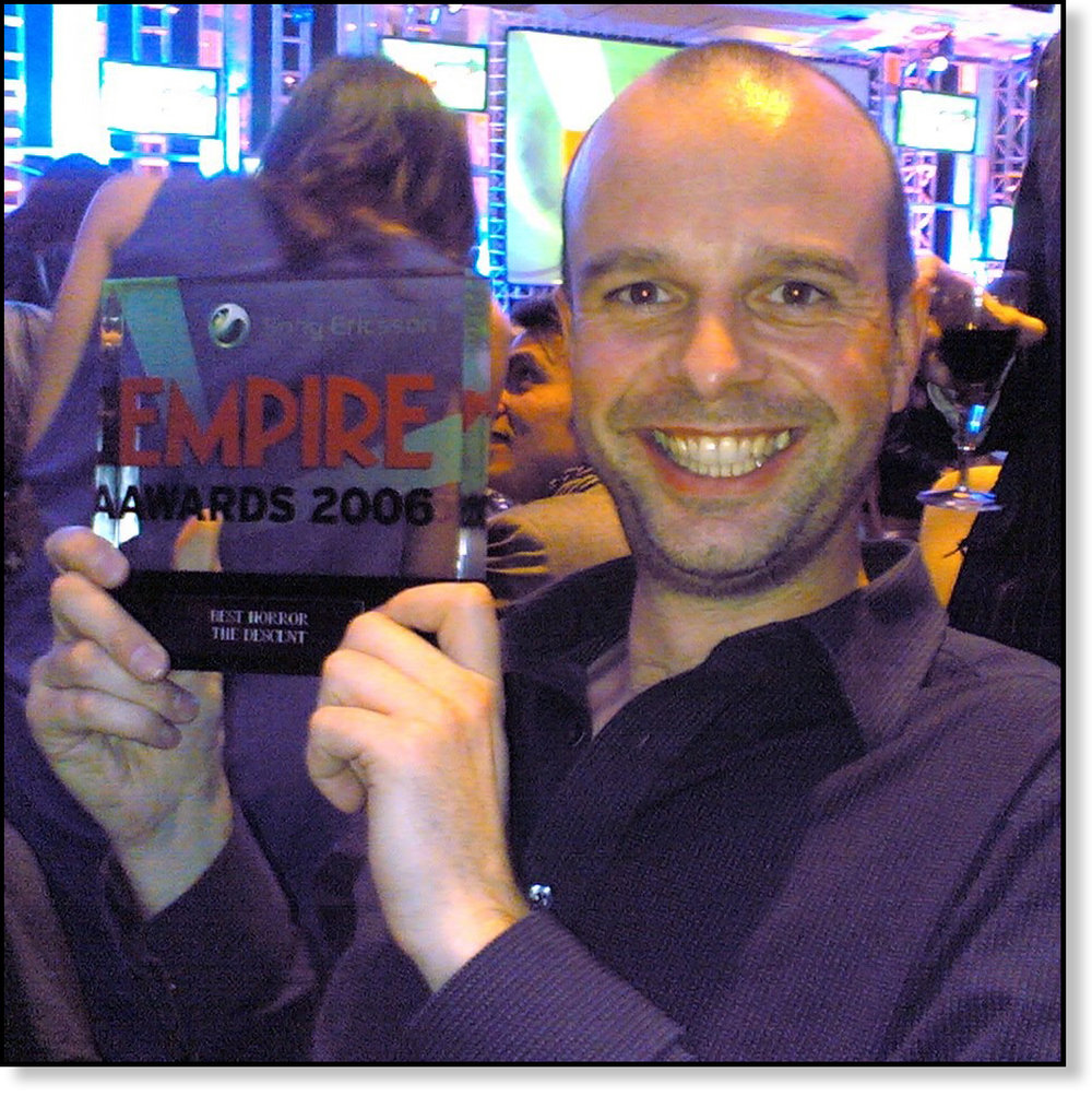 THE DESCENT WINNING EMPIRE AWARD