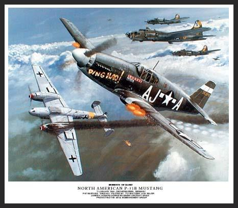 Flying Tiger ace Major James H. Howard single-handedly defends the B-17s of the 401st Bombardment Group from numerous enemy fighter attacks, saving the group and downing a number of enemy planes. For this action he received the nation's highest honor, the Medal of Honor.