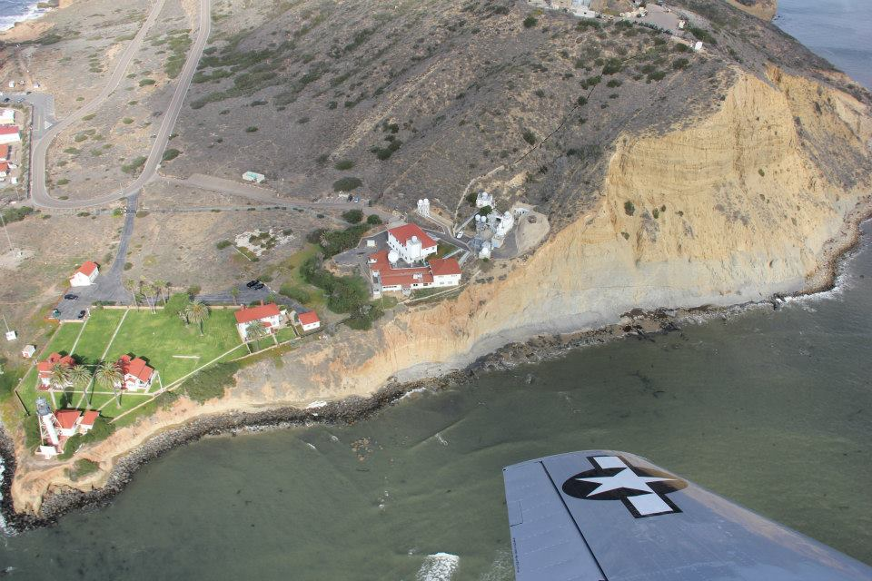 Pt Loma, a Top Gun movie location