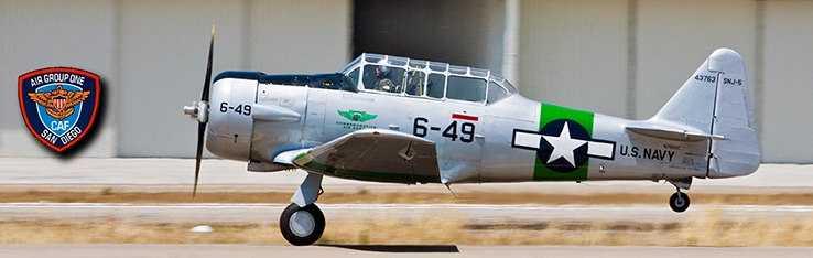 Air Group One SNJ-5 Sassy