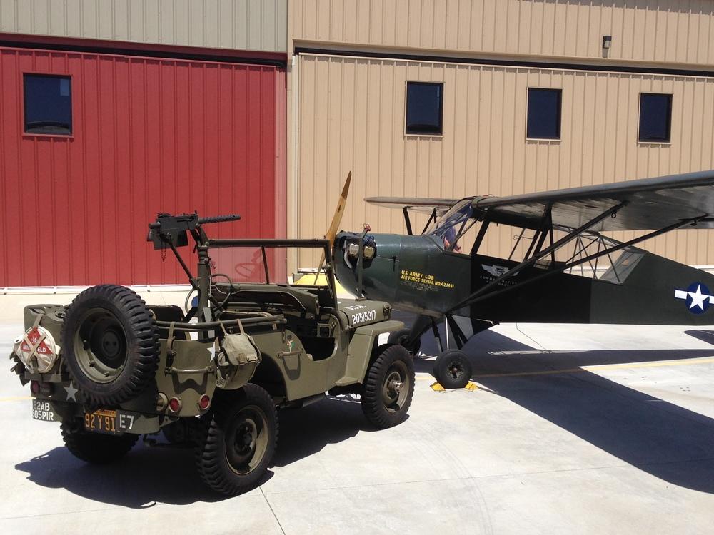 Aeronca L-3 Grasshopper, Liaison Aircraft 1943.