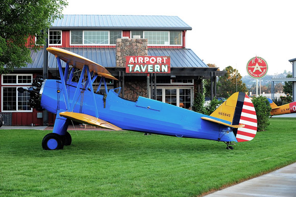 Antique 220 hp Stearman Biplane, owned by Rick Fordem