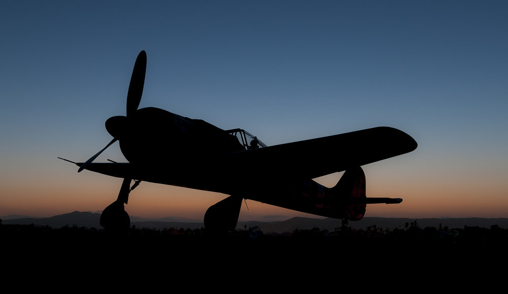 Fw 190 At Night