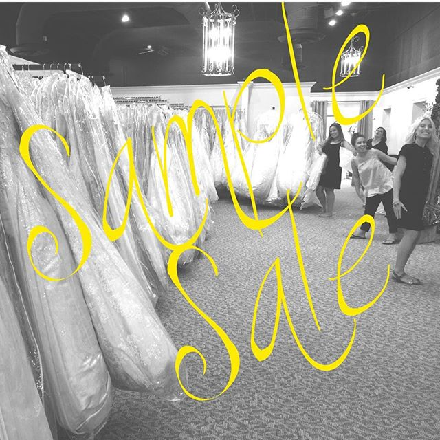 We. Are. Ready.  Are you?????? Sample Sale • WR Lebanon • Sunday May 20 • 12-4