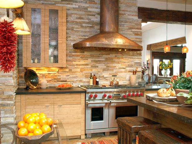 Their List Http Www Hgtv Com Kitchens 30 Splashy Kitchen Backsplashes Pictures Page 3 Html What Do You Think Of This Warm Earth Tone Back Splash