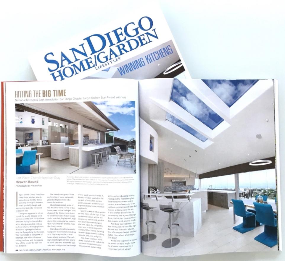 Winner + Cover of San Diego Home/Garden Lifestyles — Hamilton-Gray ...