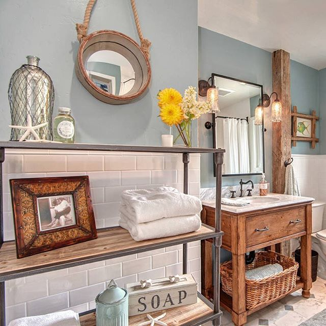 Don't miss out on our new feature in @shutterfly 100 Easy Bathroom Ideas. If you're in the midst of a redesign, this article is perfect for you!