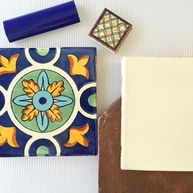 Preparing for meetings is a lot more fun when your working with Tierra y Fuego tiles like these!
