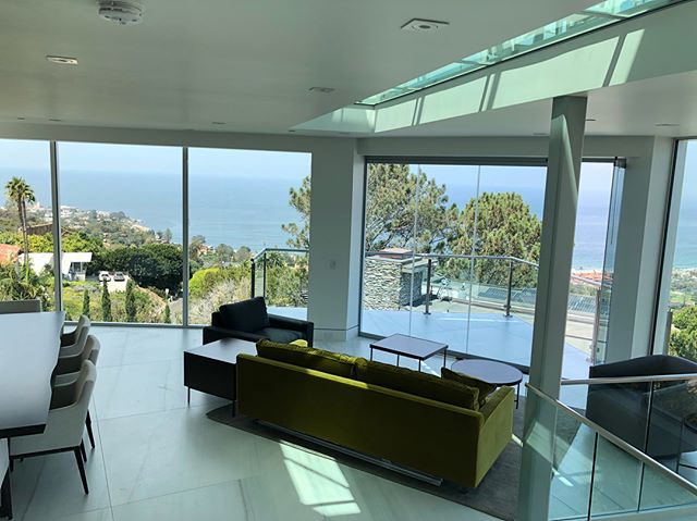 A sneak peek at our latest project constructed of all glass and steel, nestled in the hills of La Jolla! • • • #mgbwhome #glass #steel #beach #bludot #calligaris #design #interiors #contemporarydesign