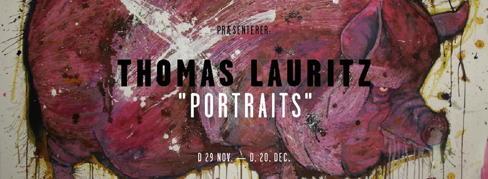 "Blaa Galleri (Solo)  ""Portraits""  2013"