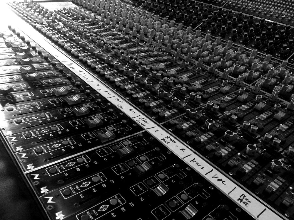 Tracks on tracks
