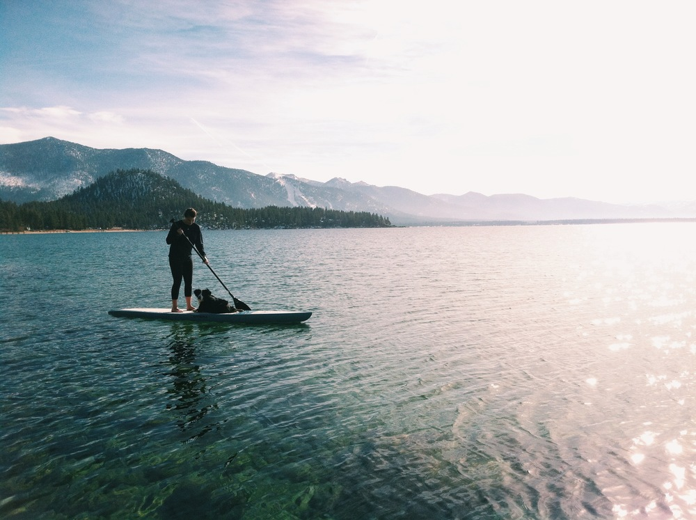 Lake Tahoe Standup Paddle Boarding