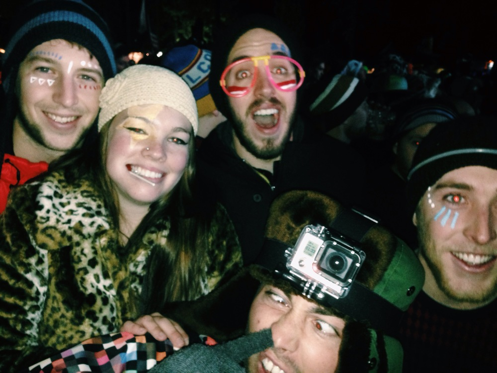 SnowGlobe Music Festival Facepaint