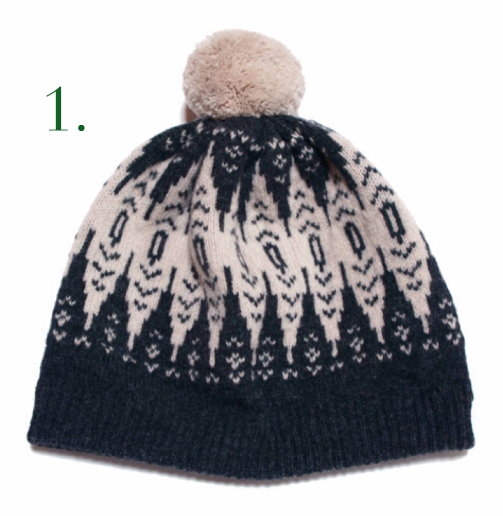 Hilary Grant PomPom Hat