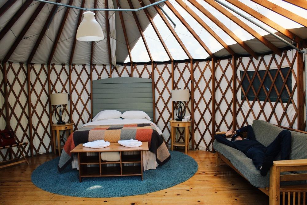 Treebones Resort Yurt & Of Mountains Beaches and Cliffs u2014 Seek + Scout