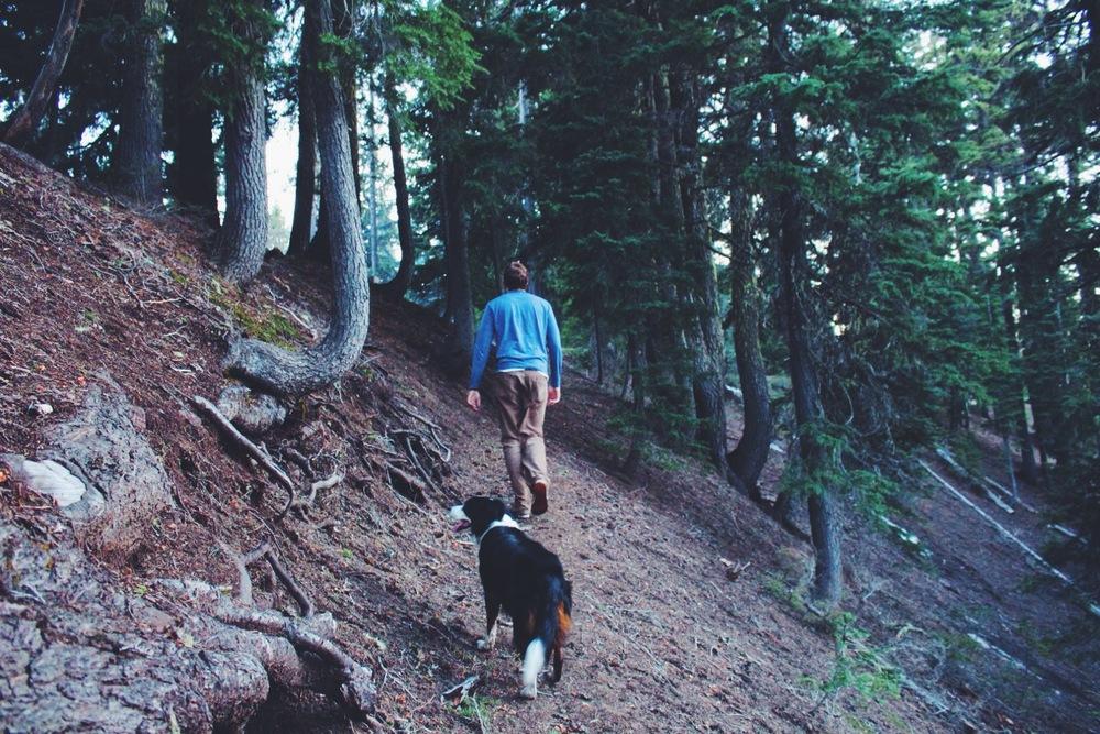 Crater Lake Hiking