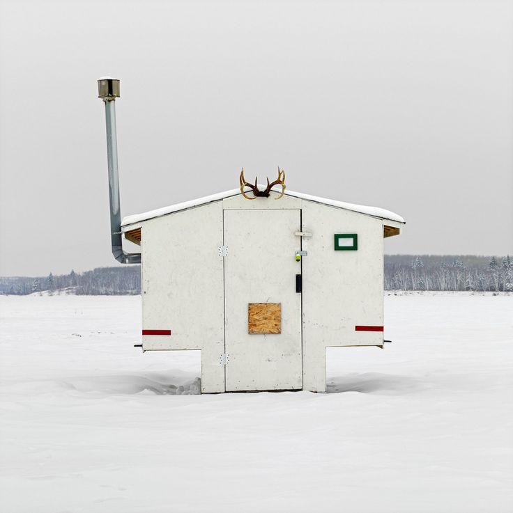 Ice Hut No. 497. Anglin Lake, Saskatchewan. 2011. Richard Johnson