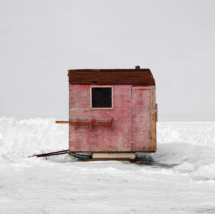 Ice Hut No. 427a. Riverton, Lake Winnipeg, Manitoba. 2010. Richard Johnson