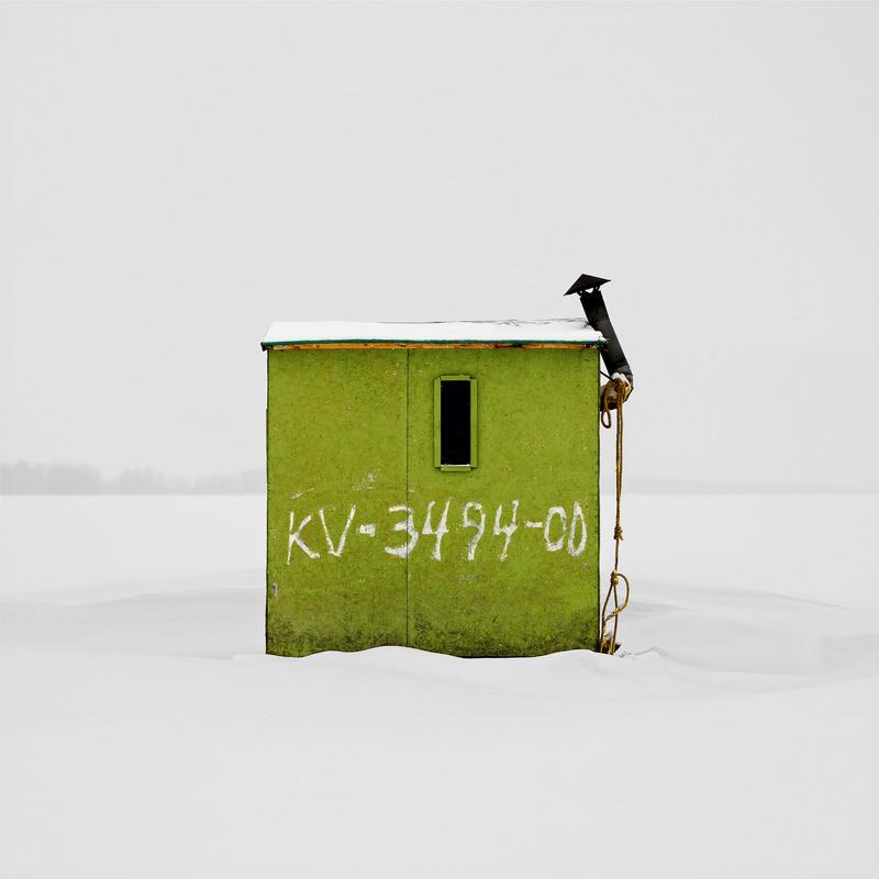 Ice Hut No. 155. Petrie Island, Orleans, Ontario. 2008. Richard Johnson