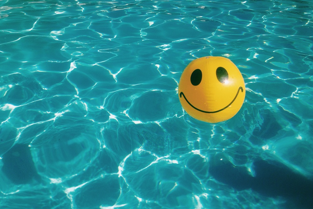 smiley beachball