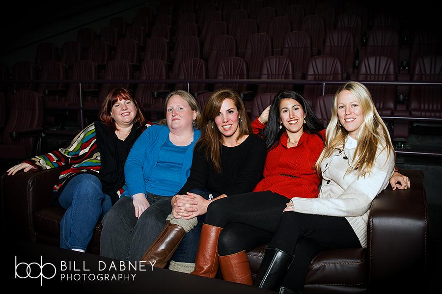 Festival directors Addington, Emanuel, Fergusson, Chaney, and Clark (December 2013)