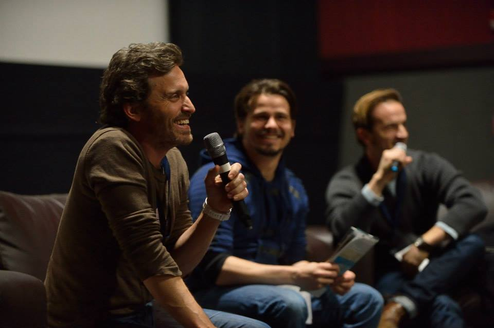 Rob Benedict, Jason Ritter, and Richard Speight, Jr.