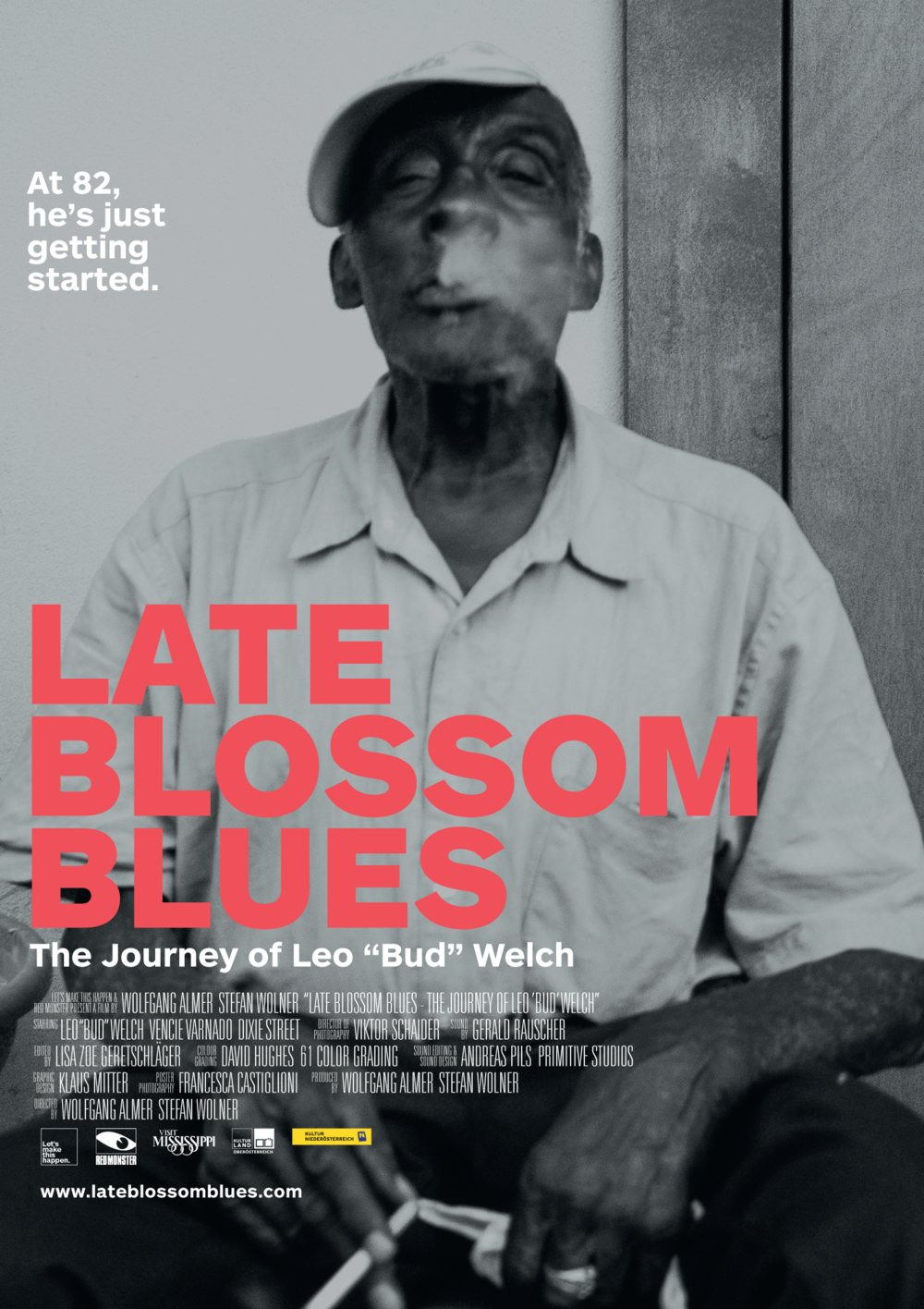 Leo Bud Welch is the focus of Late Blossom Blues at the Oxford Film Festival.