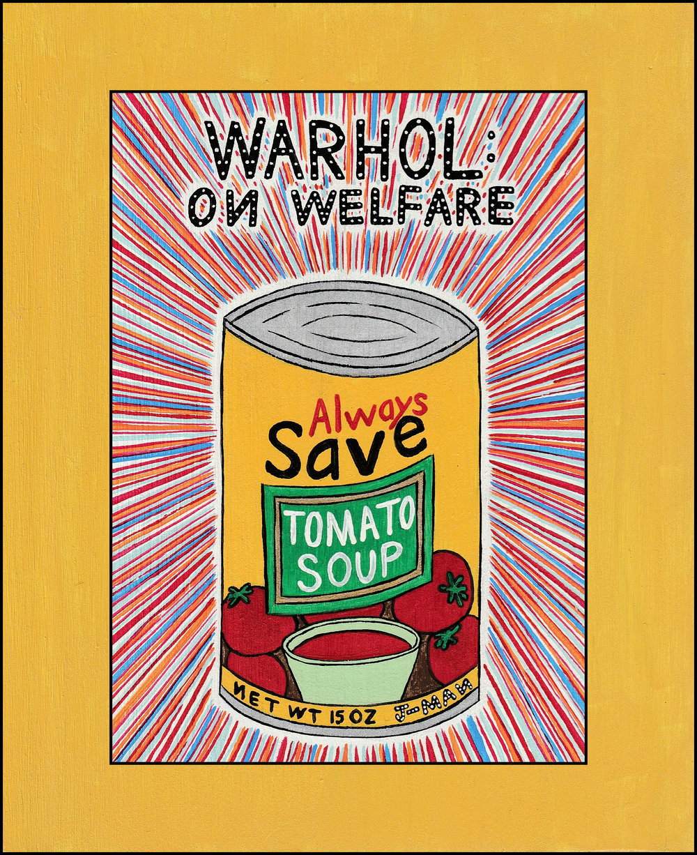 Warhol On Welfare #611 sandwich.jpg