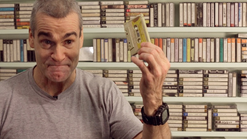 Henry Rollins in Cassette: A Documentary Mixtape