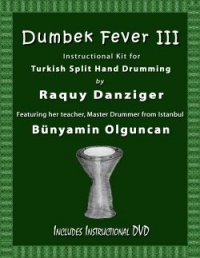 Since Dumbek Fever II, Raquy was drawn to Istanbul Turkey to immerse herself in the mind-blowing Turkish Split Hand Technique.  She's had the privilege of practicing there under a master drummer, Bunyamin Olguncan. Together Raquy and Bünyamin will break down and demonstrate this incredible new style.