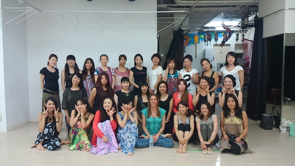 Rhythm for dancers workshop in Osaka, 2015