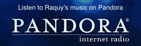 listen to raquy's music on Pandora!
