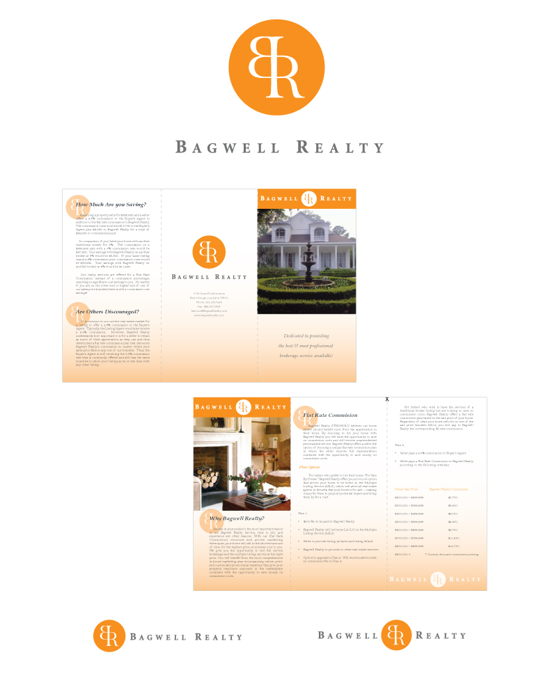 Bagwell Realty Logo and Brochure