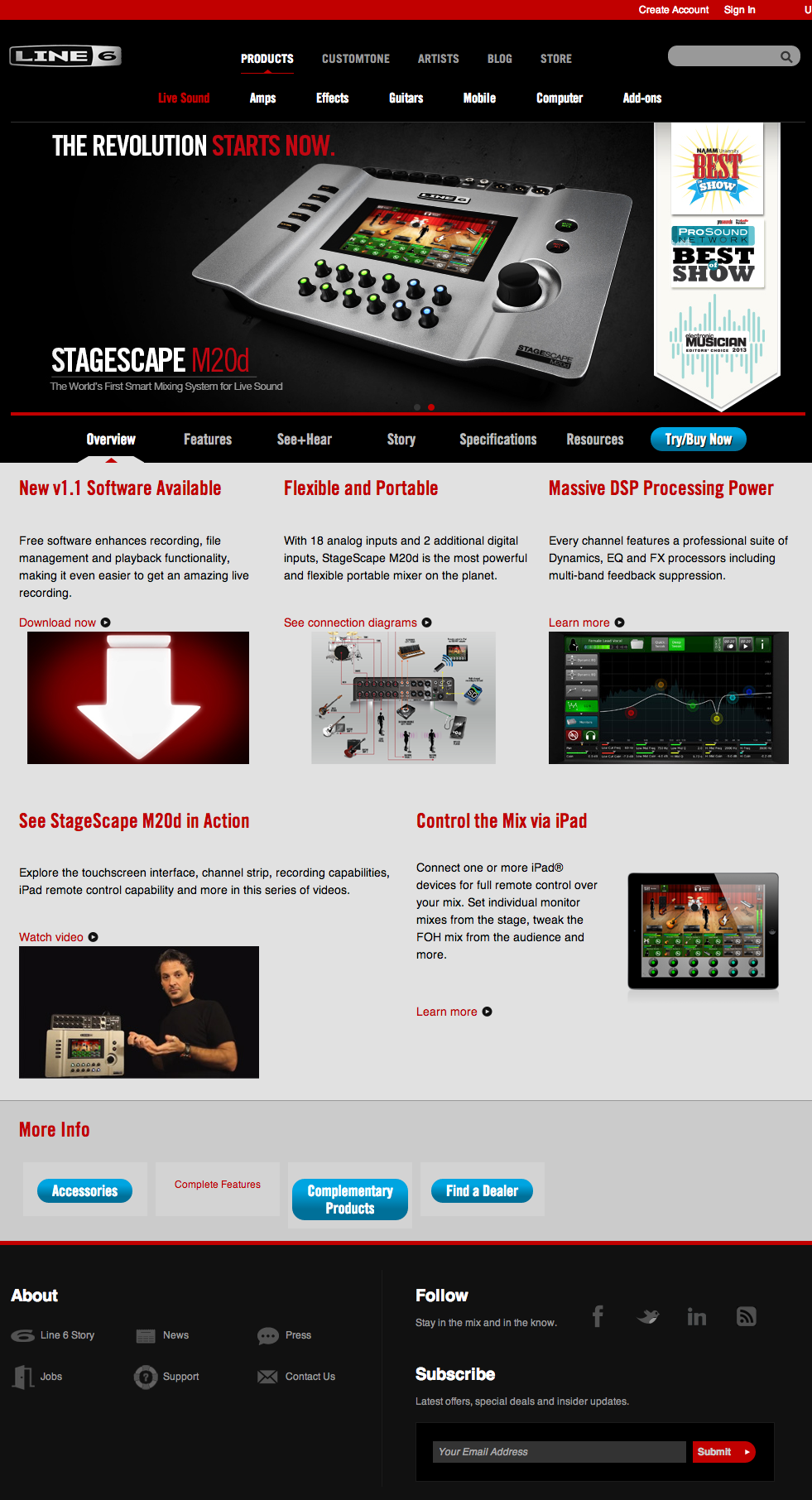 Overview | StageScape M20d | Line 6.png