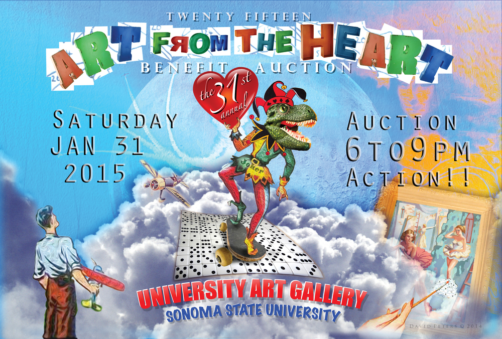 Art From The Heart - Benefit Auction Announcement 2015