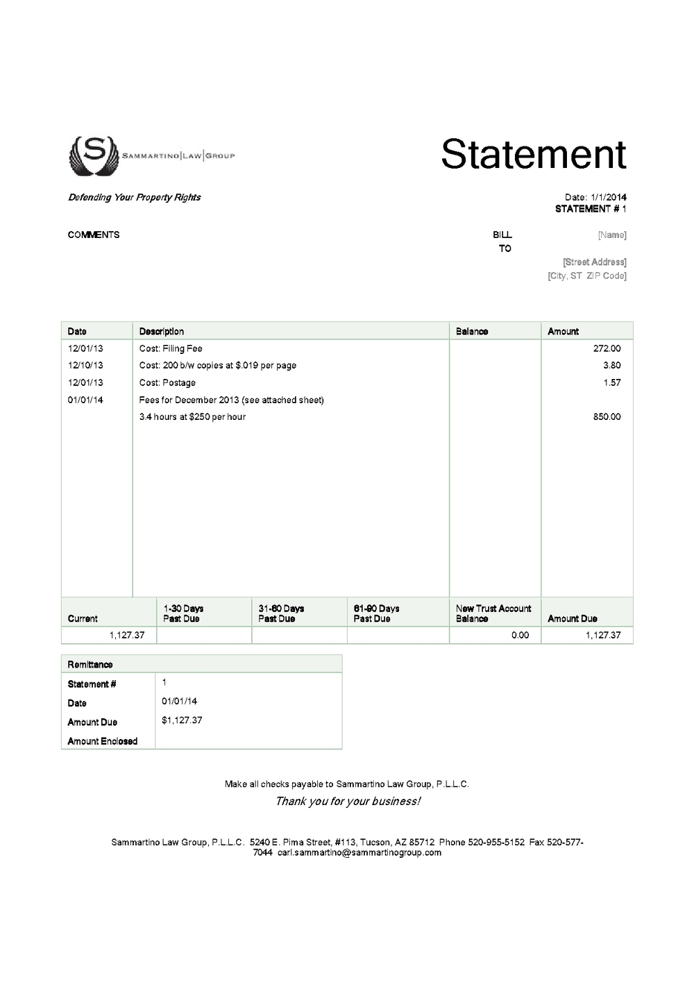 attorney billing template sample character reference letters, Invoice templates