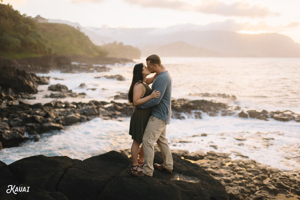 Kauai Hawaii Honeymoon Adventure Session
