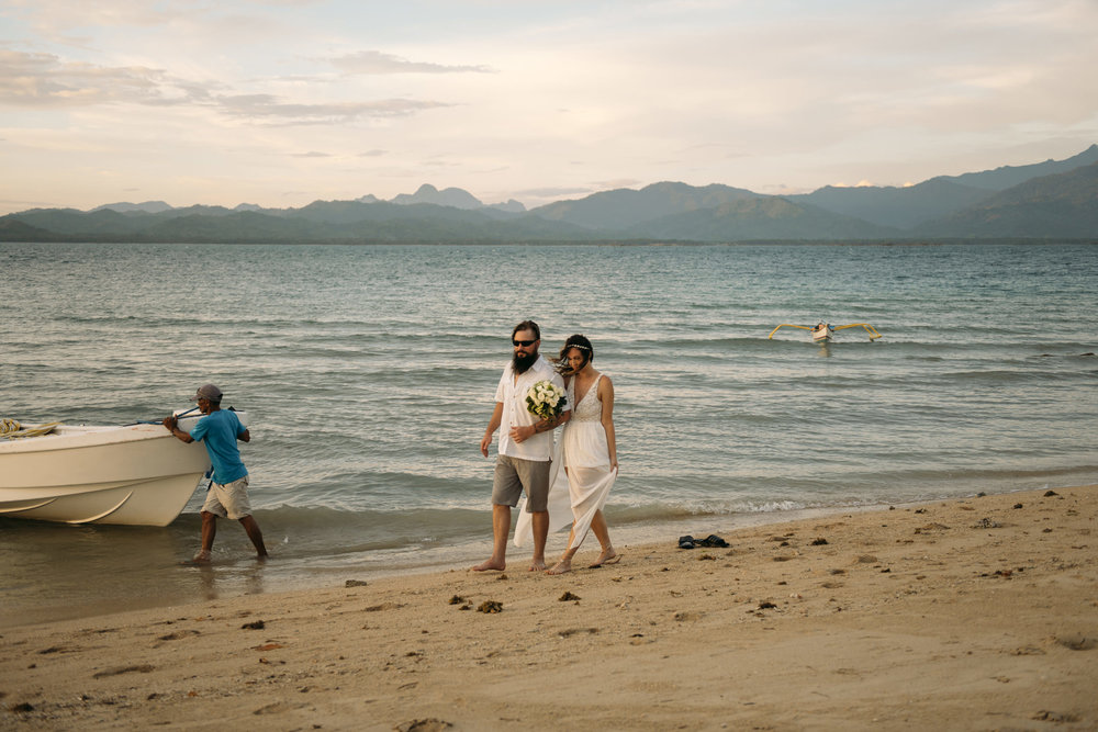 Palawan Philippines Destination Wedding Photography by Adventure Elopement Photographer Colby and Jess