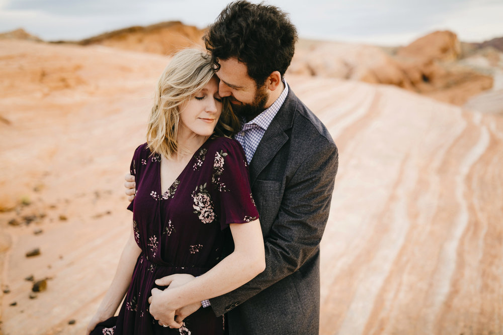 Valley of Fire Adventure Couples Photography Session by Nevada Destination Elopement Photographer Colby and Jess