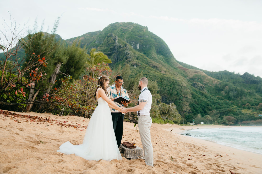 Kauai, Hawaii  Elopement Photographer