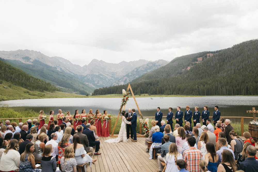 Piney River Ranch, Colorado  Adventure Wedding Photographer