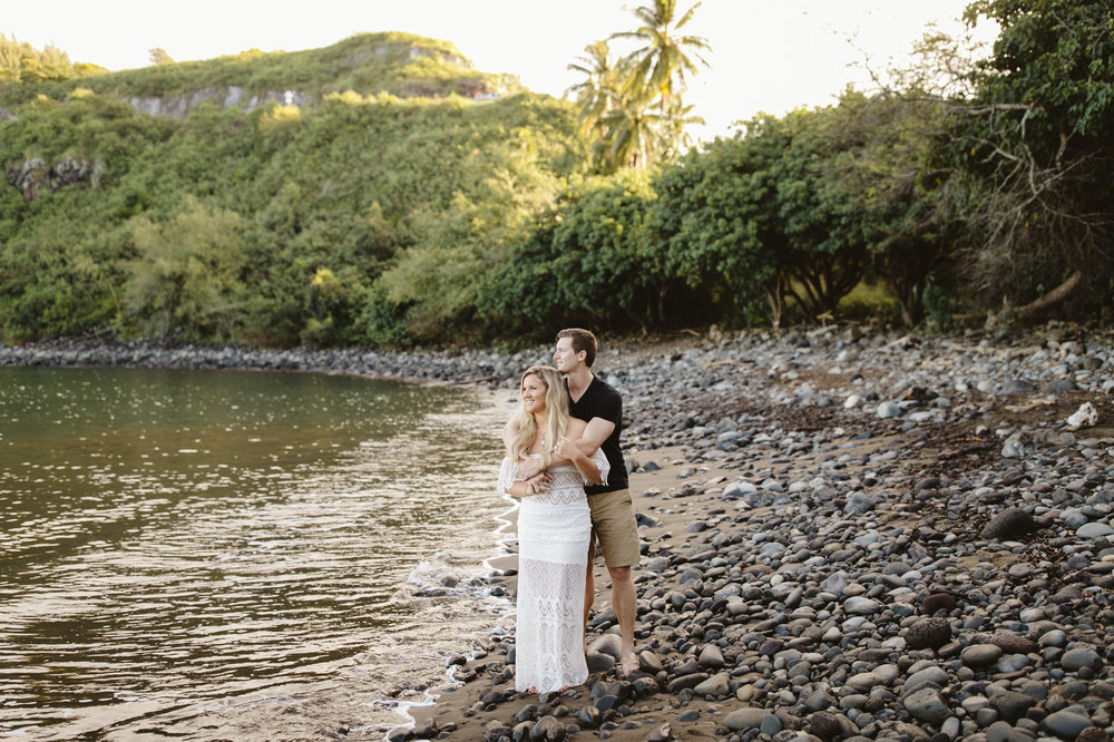 A Maui adventure engagement photography session by Hawaii Elopement Photographer Colby and Jess