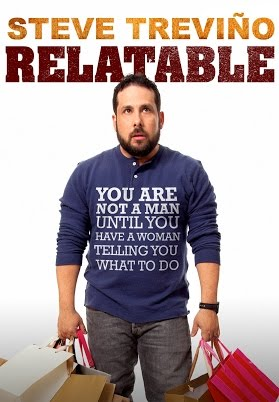 Steve Treviño's newest special, Relatable is for sale on DVD now.