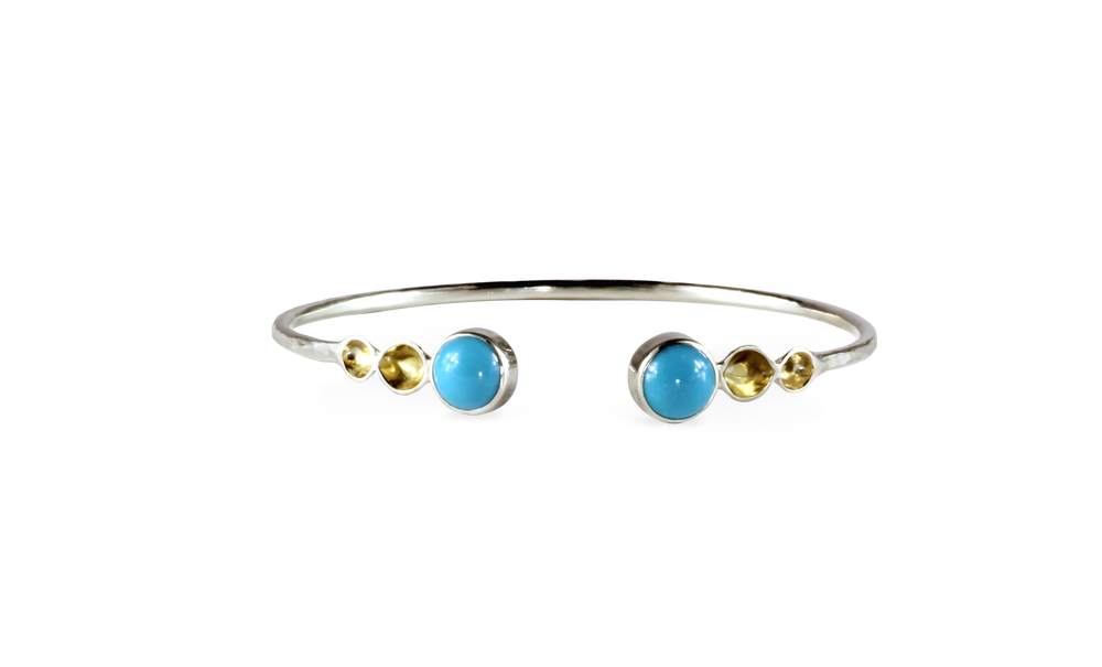 Turquoise Gold End Cuff.jpg