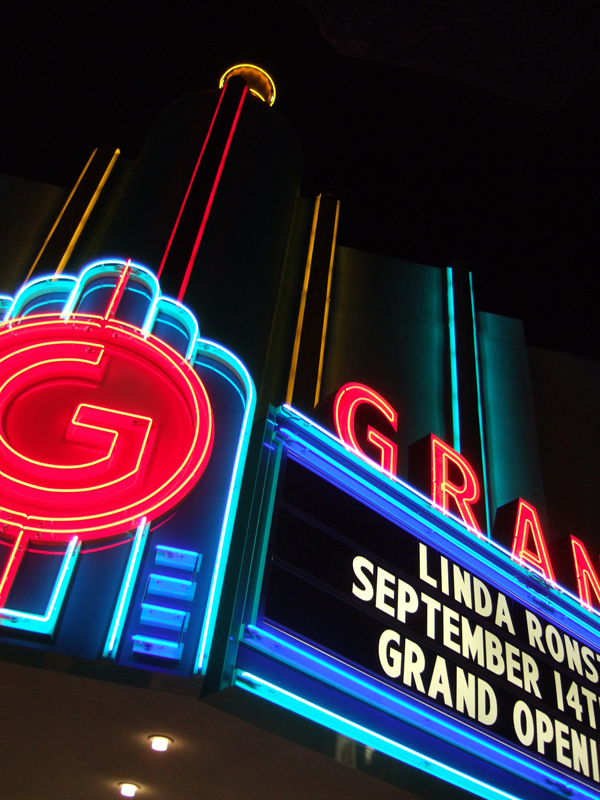 Grand Theatre Marquee Reconstructed
